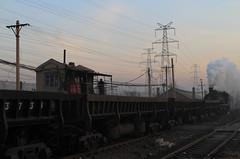 I_B_IMG_9110 (florian_grupp) Tags: asia china steam train railway railroad fuxin liaoning sy coal mine 282 mikado steamlocomotive locomotive