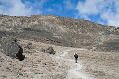 Mount Meru Hiking (Let view Tanzania) Tags: 2007 400d africa backpacking barafuhuts canonefs1855mmf3556 day4 eastafrica easternafrica friends hike hiking kilimanjaro machameroute machamemwekaroute mountkilimanjaro tanzania trekking