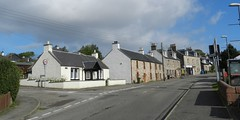 Welcome to Munlochy, Black Isle, Sep 2016 (allanmaciver) Tags: munlochy black isle scotland houses central clouds weather sun quite rural village community allanmaciver