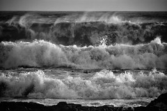 catch a wave, and you're sitting on top of the world (paddy_bb) Tags: travel sea sky seascape water hermanus southafrica coast wave 2015 nikond5300 paddybb