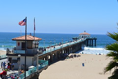Manhattan Beach (dsjeffries) Tags: pacificocean manhattanbeach walkable