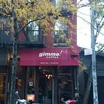 Gimme! Coffee @ Mott Street, NYC