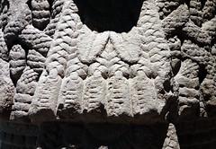 Coatlicue, detail with bustle, c. 1500, Mexica (Aztec)