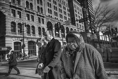 Philadelphia, 2015 (Alan Barr) Tags: street people blackandwhite bw philadelphia monochrome mono blackwhite candid streetphotography sp streetphoto gr marketstreet ricoh 2015 marketstreeteast