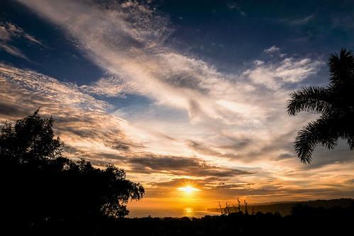 Sunset over Marosi Beach