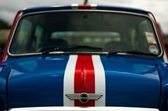 Minis Rule UK (pigpogm) Tags: car photos mini front badge bonnet unionflag exmouth voigtlander40f14 mxpp exmouthclassiccarshow rtamkick