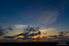 Sunset - April 5, 2015 (Michael Seeley) Tags: sunset beautiful clouds florida flag melbourne starsandstripes murica floridainstituteoftechnology mikeseeley michaelseeley