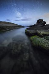 transparncies de nit (tofercu) Tags: canon landscape mar costabrava nit vialactea nitgh marmediterrani tonifernandez 5dmarkiii