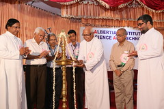 "AISAT Engineering College, Kerala - AISAT DAY Inauguration - Rev. Dr. Joseph Kariyil, Bishop of Cochin lighting the inaugural lamp of AISAT Day celebration on 20.03.2015 • <a style=""font-size:0.8em;"" href=""http://www.flickr.com/photos/98005749@N06/16923541337/"" target=""_blank"">View on Flickr</a>"