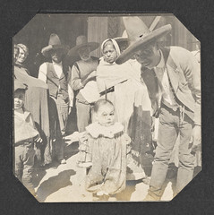 [Young Child Dressed as a Clown] (SMU Central University Libraries) Tags: costumes clowns