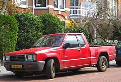 1996 Mitsubishi L200 2.5 D Club Cab (rvandermaar) Tags: club d cab 1996 25 l200 mitsubishi triton mitsubishil200 mitsubishitriton grijskenteken sidecode5 vnpt06