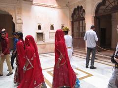 visiteuses (ch-mjt) Tags: voyage palais inde mehrangarh indiennes