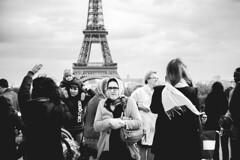 People waiting Part.1 (FCarboni) Tags: people paris love canon 50mm waiting eiffel human wait 5d parigi