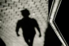 What we are (ricardoglezgascon) Tags: shadow urban blackandwhite blur blancoynegro existentialism sombra desenfoque urbana ser rare rara existence fotografiaurbana existencia existencialismo nikkor55200 d5100
