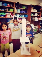 STEM engineering lesson  #futureengineers #apr22 (bethonious) Tags: apr22 futureengineers