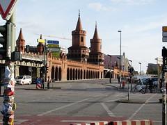 BERLIN 2010 by LLH (streamer020nl) Tags: bridge berlin germany deutschland pont brug brücke 2010 berlijn oberbaumbrücke llh louiselh