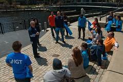 Gathering the IGT Volunteers