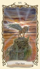 The Sun (Winged Lion) (soe gabriela) Tags: tarot thesun elsol wingedlion fantasticalcreaturestarot