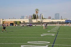 D124385A (RobHelfman) Tags: sports losangeles football highschool loyola crenshaw passingleague