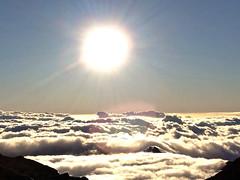 Sunrise at Haleakala Summit (pete.staffier) Tags: morning travel sky sun holiday clouds sunrise volcano hawaii maui haleakala summit brights