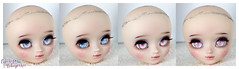 Eyechips (Mikiyochii) Tags: doll dolls groove pullip pullips repaint faceup eyechips