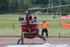 Bo105 87+62 arrival. (aitch tee) Tags: aircraft helicopter arrivals bo105 raffairford 8762 riat2016 royalinternationalairtattoo2016 wednesday6july2016