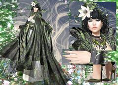 AZUL - Sakura (Rehana MiSS SLVietnam, Face of CHOP ZUEY 2015) Tags: secondlife fashion rehana rehanaseljan newrelease azul lode maitreya chopzuey empire laboheme slink tram posesion