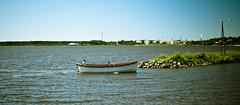 V 23951 (jollila) Tags: vaasa vene boat summer kes meri sea water vesi ranta shore sky taivas nikond90