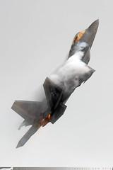 09-4181/FF - Lockheed Martin F-22A Raptor [4181] - US Air Force / 1FW - Royal International Air Tattoo / RAF Fairford - 7 July 2016 (Leezpics) Tags: f22 royalinternationalairtattoo fairford usaf militaryaircraft riat airshows 7july2016 fighteraircraft usairforce 094181 raptor stealth lockheed