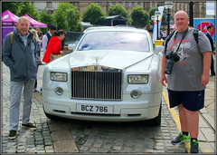 I gave 'em both a lift (* RICHARD M (Over 5 million views)) Tags: harry ian smiles rollsroyce roller cars motors autos automobiles vehicles transport togs photographers stgeorgeshall liverpool merseyside europeancapitalofculture capitalofculture unescoworldheritagesite unescocityofmusic unescomaritimemercantilecity liverpoolpride lol humour luxurycars motorcars class classy classiccars todiefor limestreet liverpoolslimestreet dreamcars motoring dreammachines happy happiness flckrites