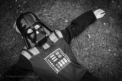 Darth is Down (Stewart R) Tags: film grass scotland fuji perthshire simulation perth darth vader acros xpro2