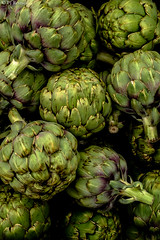 Artichokes (PJ Resnick) Tags: light food white plant black color colour green texture yellow vancouver digital washington noir pattern fuji purple farmersmarket market outdoor atmosphere vegetable foliage velvia pacificnorthwest fujifilm pnw rectangle fujinon atmospheric artichoke rectangular artichokes resnick vancouverwa fujivelvia xf 4x6 23mm highspeediso pjresnick pjresnickgmailcom perryjresnick pjresnick fujinon23mmr xf23mmr