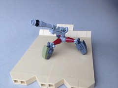 Wun'Tux Artillery WIP (TenorPenny) Tags: lego microscale microspace wuntux artillery