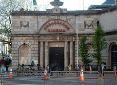 Ambassador Cinema (mikecogh) Tags: dublin columns formal bicycles stately ambassadorcinema