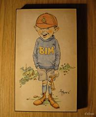 BIM / Caricatura 1.981 (Franco DAlbao) Tags: francodalbao dalbao lumix dibujo drawing caricatura caricature bim albert suegro fatherinlaw nio child boy kid 1981 plumilla lpiz nib pencil
