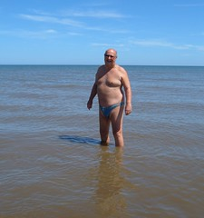 Paddling at Huttoft (pj's memories) Tags: northsea paddling tanthru kiniki huttoft