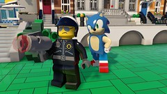 LEGO Dimensions SEGA Sonic (hello_bricks) Tags: lego dimensions legodimensions et gremlins gizmo marceline adventuretime sonic fantastic beasts fbawtft ateam agencetousrisques pack funpack storypack levelpack teampack videogame jeuvido hellobricks