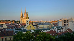 Zagreb Cathedral - St. Maria Church on Dolac - uptown view Zagreb (Miroslav Vajdi) Tags: zagreb croatia cityscape m1r0slavv travel adventure trip tourist vacation travelphotography instatravel city europe beautifullnature cleannature greatnature wallpaper   vip  i      cathedral stmariachurch