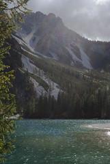 Trapped light (VALERIA MORRONE  ) Tags: braies lago lake see lac wildsee pragser nikon d60 valeria morrone luce raggi light alberi trees alto adige sdtirol