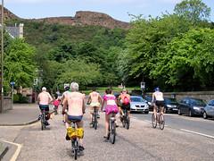 World Naked Bike Ride 2016-156 (KirkmouseMedia) Tags: bicycle edinburgh wnbr cycling