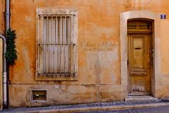 Street of Marseilles - Typique (KristHelheim) Tags: streetofmarseilles marseille lepanier quartier ville city neighbourhood fujifilm fujifilmx100t x100t fujix100t velvia tag graffiti streetart rue door porte entre volet