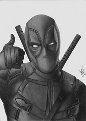 Deadpool (Alisson Mattos) Tags: realismo realista desenho sketch tattoo ilustrao illustration tatuagem deadpool