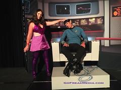 Star Trek  convention 2016-16 (GoFreak Media) Tags: lasvegas startrek star trek convention gofreakmedia data spock klingon thenextgeneration kirk jonjonthephenomenon