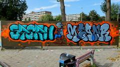Graffiti Couwenhoek (oerendhard1) Tags: graffiti streetart urban art rotterdam couwenhoek stern meanr