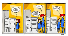 superd family01mini (ilsuperdisoccupato) Tags: italia fumetti bruno satira socialismo larepubblica crisi disoccupazione precariato superdisoccupato