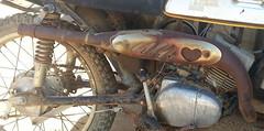 hooker (Nicola_R) Tags: new york classic bike project bristol 1971 pipe performance trail yamaha restored restoration hooker exhaust 175 enduro scrambler ct1 webco scambler vjmc ct1c