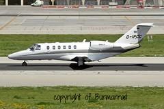 D-IPCC LMML 29-03-2015 (Burmarrad) Tags: 2 cn private aircraft airline plus registration cessna citationjet 525a lmml dipcc 525a0409 29032015