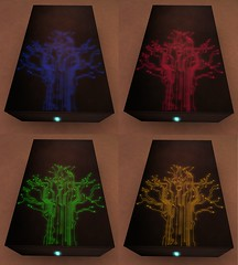 sci-fi table top (andraus thor) Tags: fiction light nerd set table design glow geek interior decoration halo scifi glowing lightning coffeetable decor futuristic prop stylish lowimpact retrogaming teatable livingroominterior