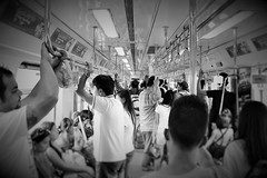 Philippine LRT (prince rob) Tags: people canon asian happy mono blackwhite asia peace serious metro philippines joy excited monotone passengers riding tired manila commuter filipino commuting passenger pinay filipina lrt pinoy commuters exciting metromanila mydailycommute myhiddencity commutes lightrailwaytransit canondslr1200d dslr1200d