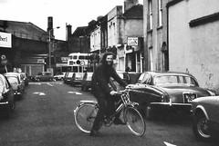 DUBLIN 1978 (streamer020nl) Tags: ireland dublin bus me bike bicycle ed cyclist eire 1978 jaguar fiets tiptop ierland llh louiselh